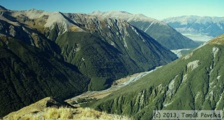 Nový Zéland - Arthurs pass