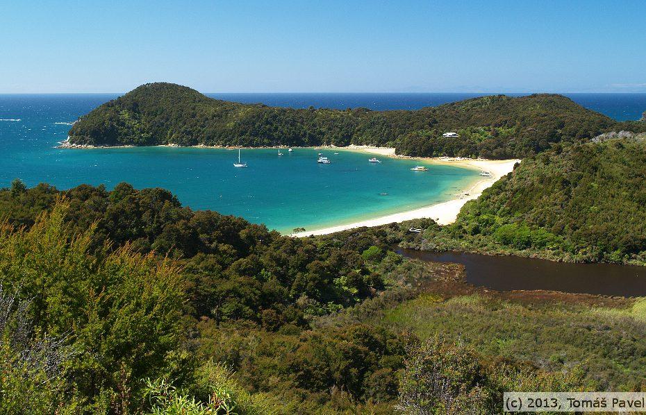 Nový Zéland -Abel Tasman