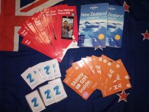 NZ SIMKARTA a průvodce lonely planet zdarma