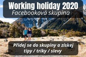 Working holiday Nový Zéland